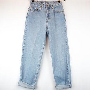 VINTAGE 90s Levis Jeans 560 Loose Fit Straight Leg